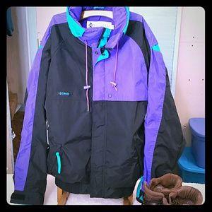 Vintage Columbia Criterion 3-in-1 ski jacket M